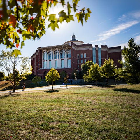 This is a photo of UK's William T. Young Library