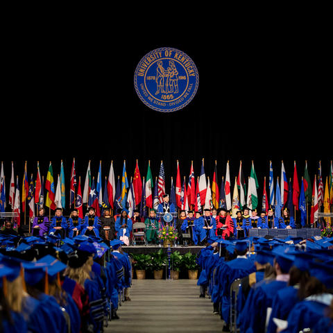 photo of UK December 2019 Commencement Ceremony.