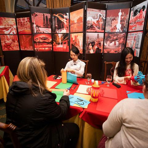 Photo of Chinese New Year celebration