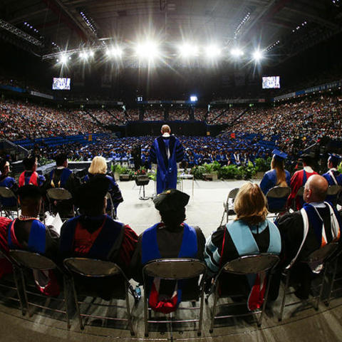 Photo of Commencement