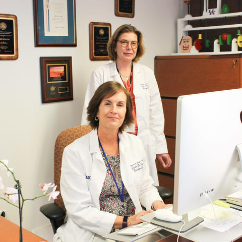 Dr. Sharon Walsh and Dr. Michelle Lofwall   Hilary Brown | UK Photo