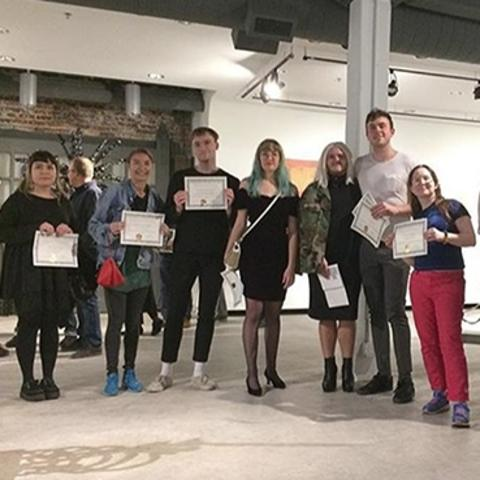 photo of winners at 2018 Carey Ellis Show