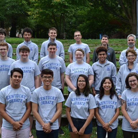 The 2019 University of Kentucky Intercollegiate Debate Team