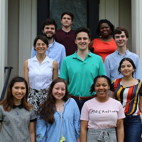 photo of 2019 Gaines Fellows