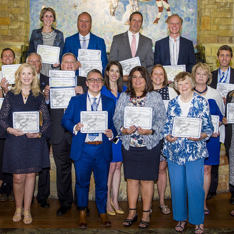 UK Alumni Service Award winners - Photo by Tim Webb