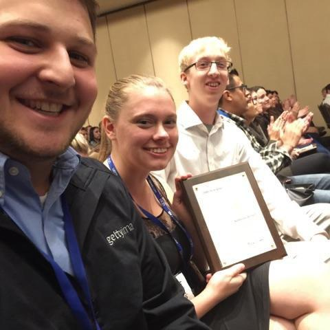 Kernel staffers with Pacemaker Award