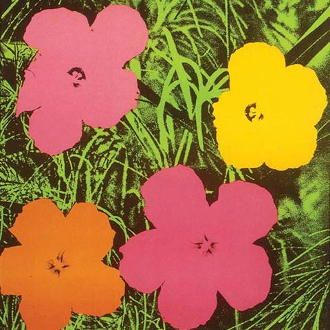 "photo of ""Flowers"" by Andy Warhol"