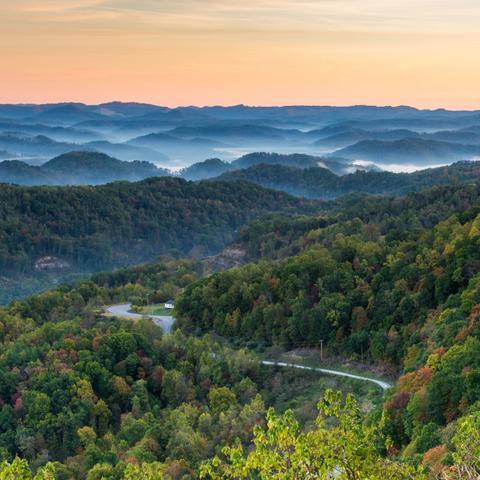 photo of Appalachian Mountains in Kentucky