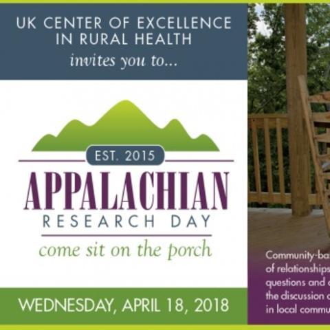 Appalachian Research Day 2018 Invitation