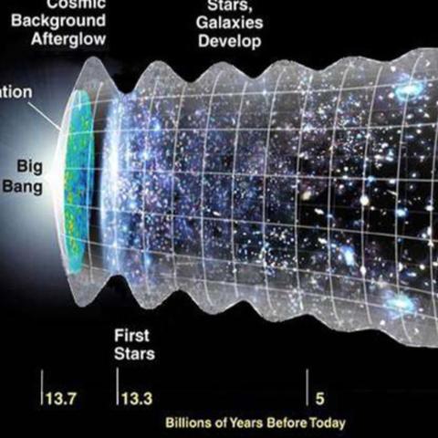 Photo Big Bang lecture flyer