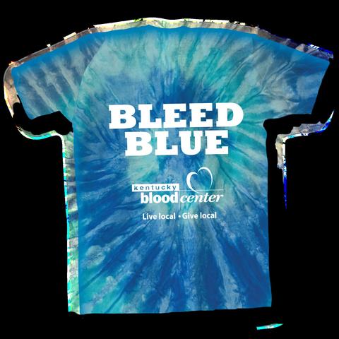 photo of Bleed Blue T-shirt