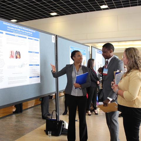 Poster presentations at the 2019 CCTS Spring Conference
