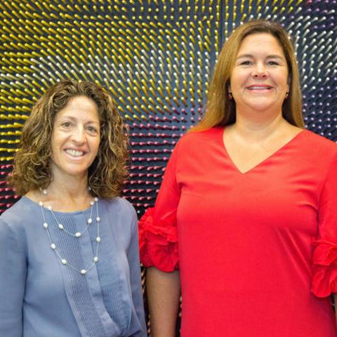 Left: Dr. Nancy Schoenberg Right: Dr. Carrie Oser