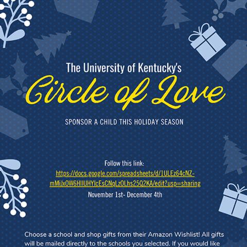 Circle of Love digital flyer