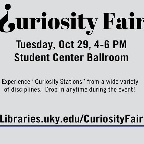 photo of Curiosity Fair slide