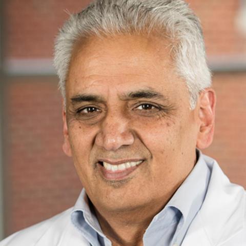 Dr. Jagannadha 'Jay' Avasarala (L) Maddison Higgins (R)