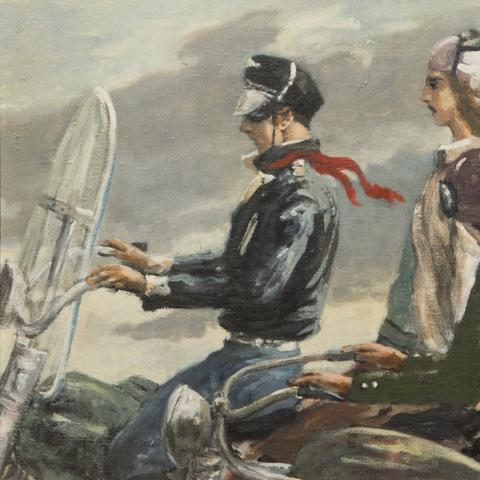 "photo of ""Motorcyclists"" by Edward Melcarth"