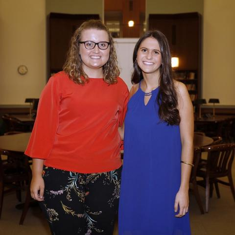 photo of Emily Hedges and Hannah Thompson