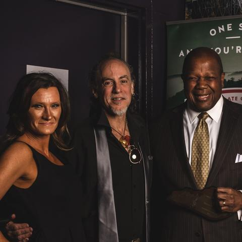 photo of David McClean, Everett McCorvey and others at Lexington Music Awards