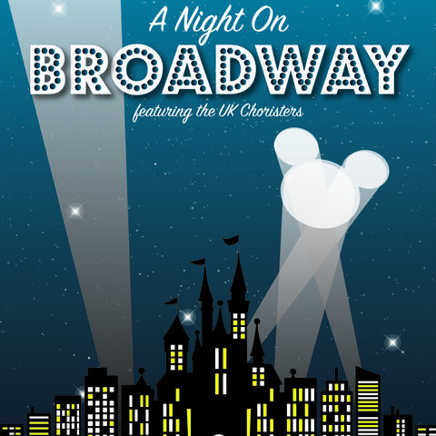 "photo of 2017 ""A Night on Broadway"" poster"