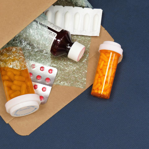 Mail delivery of medications