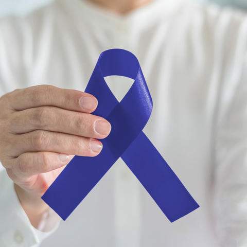 Colorectal Cancer Ribbon