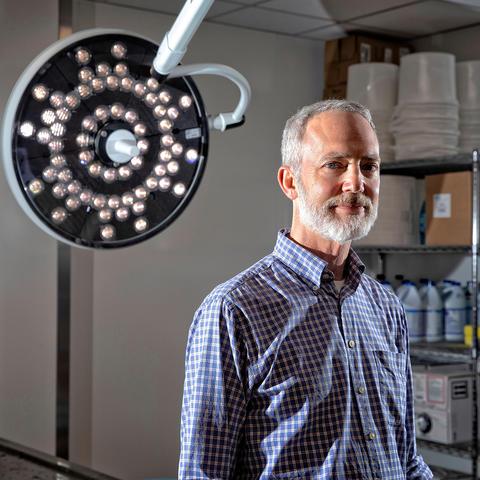 Photo of Dr. Greg Davis, University of Kentucky forensic pathologist