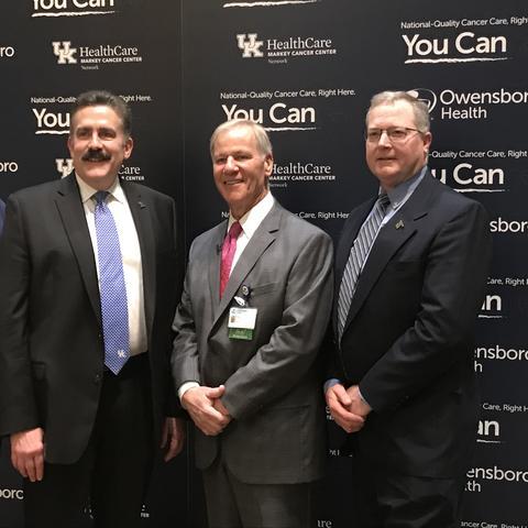 Leadership from Owensboro Health and Markey