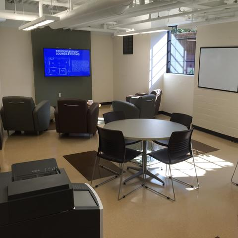 Photo of VRC Student lounge and study room