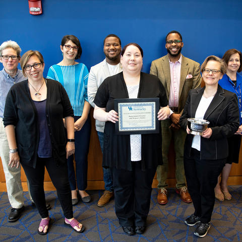 photo of the Inclusive Excellence Award winners
