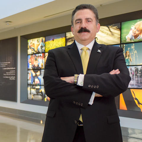 This is a photo of Dr. Mark Newman, University of Kentucky's executive vice president for health affairs.