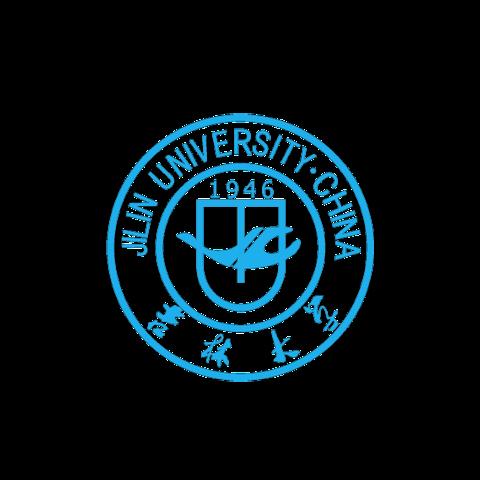 Jilin University seal in light blue