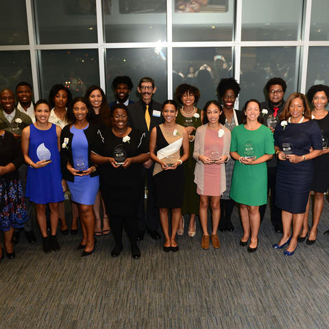 2018 recipients of Lyman T. Johnson Awards