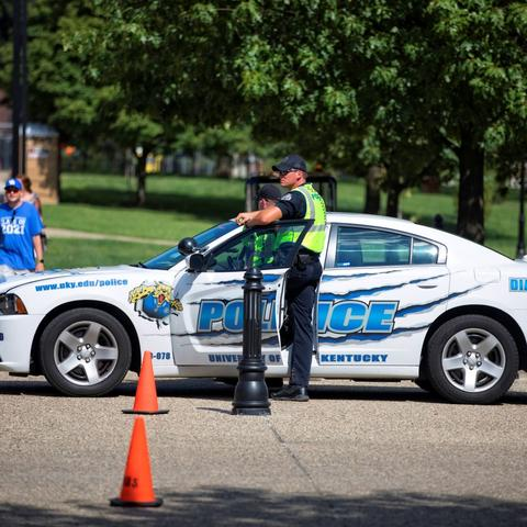UK Police Citizens Police Academy begins Oct. 10.  Mark Cornelison | UK Photo.