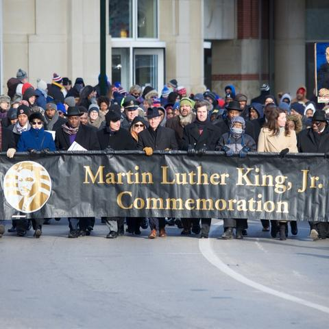 Photo of 2016 MLK Day Freedom March