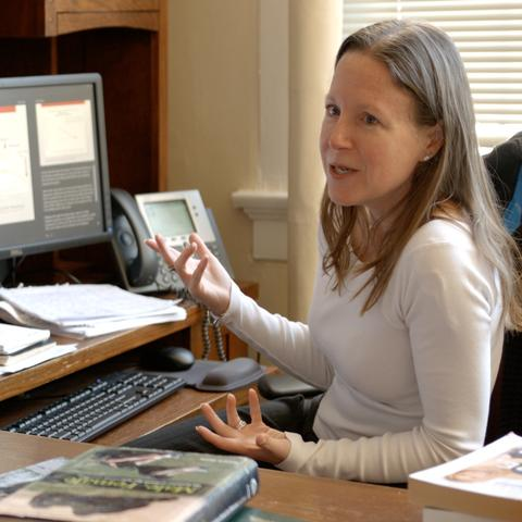 Photo of Michele Martall, associate professor of psychology