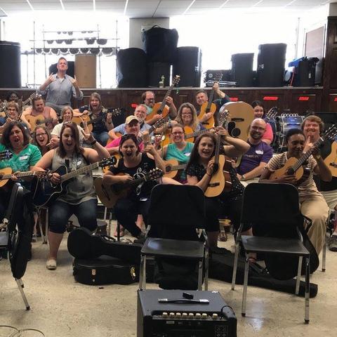 photo of Modern Band workshop