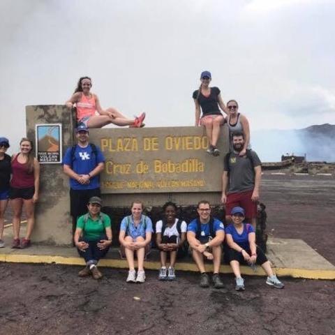 UKCD students in Ecuador