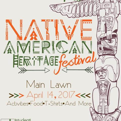 Native American Heritage Festival poster