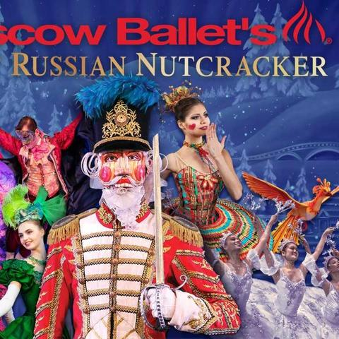 """photo of Moscow Ballet promotional art for """"Great Russian Nutcracker"""" 2019"""