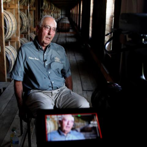 photo of Parker Beam oral history interview