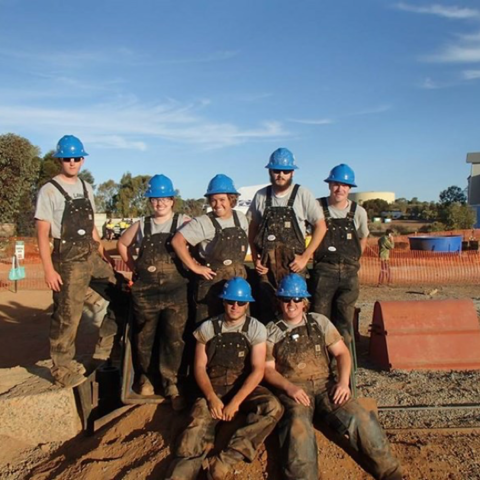 Photo of UK Mining Team