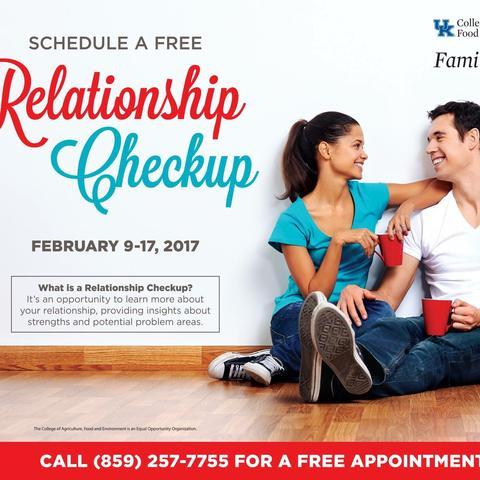 photo of Relationship Checkup ad