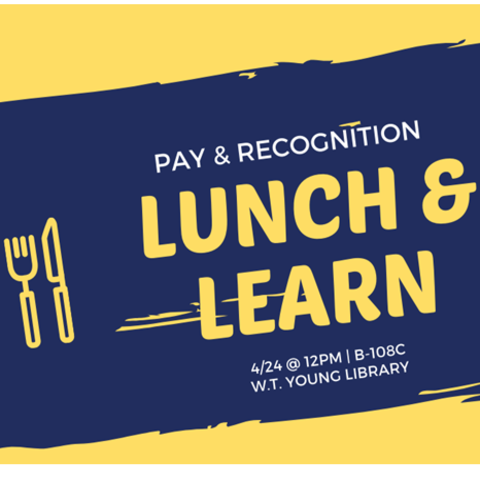 Lunch & Learn flyer.