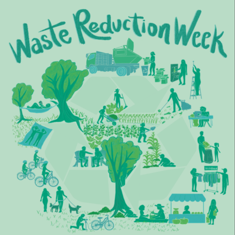 University of Kentucky Recycling is excited to host the first annual Waste Reduction Week from April 12 – 16.