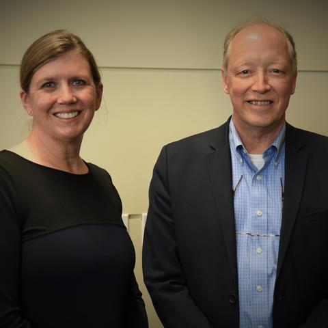 Picture of Suzanne Segerstrom and Brett Spear.