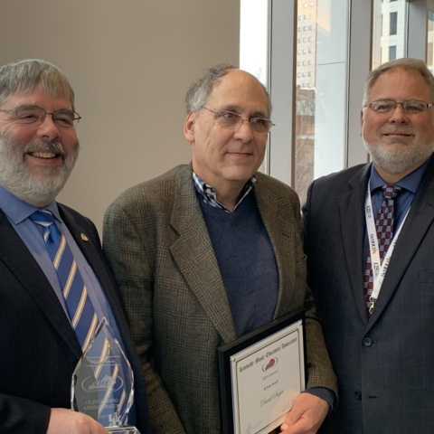 photo of Mark Shanda, David Sogin and George Boulden at 2020 KMEA