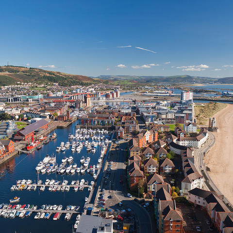 City of Swansea, Wales