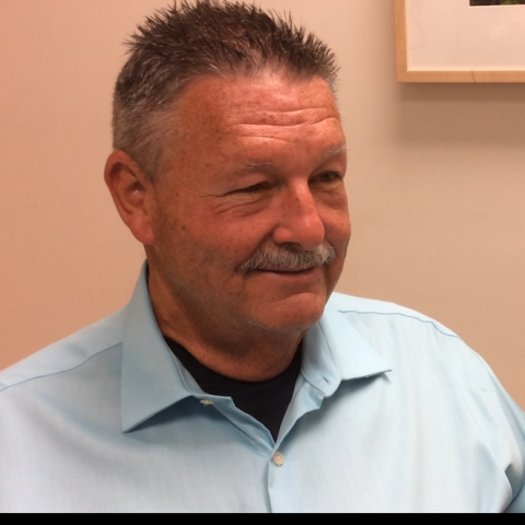 Photo of SPYRAL clinical trial participant Tom Wall