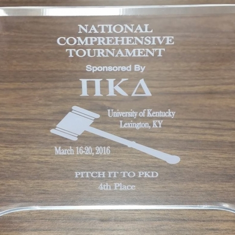 Photo of 4th place Pitch it to PKD award.